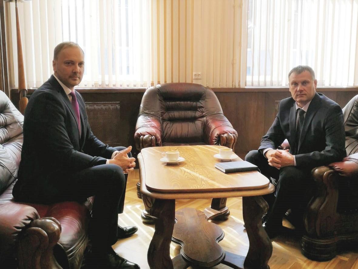 Ģenerālprokurora Jura Stukāna un iekšlietu ministra Sanda Ģirģena tikšanās -