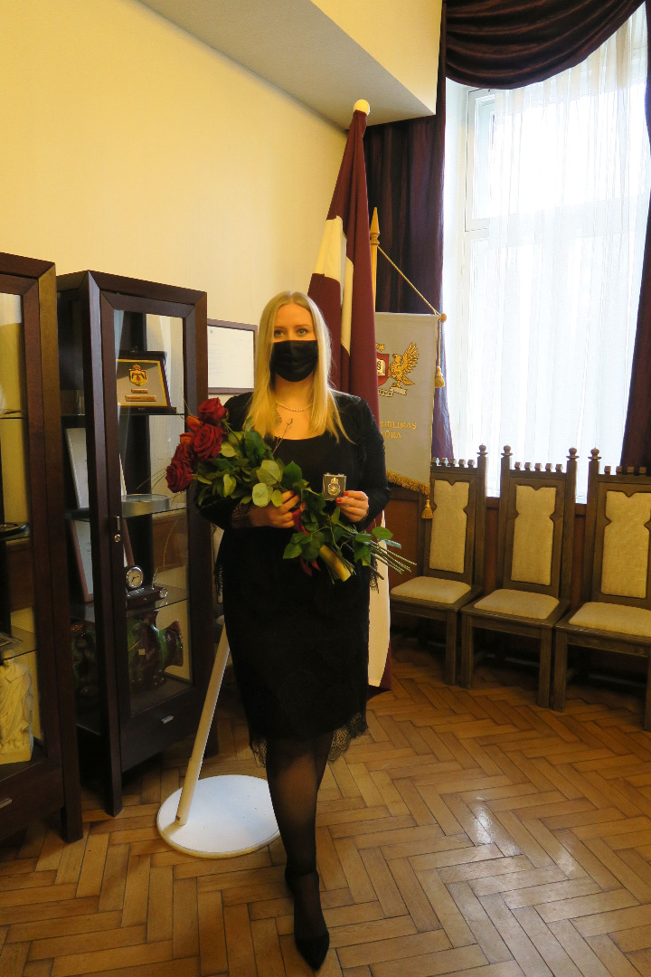 On 17 March 2021 newly recruited Prosecutor took oath in front of Prosecutor General Mr Juris Stukāns