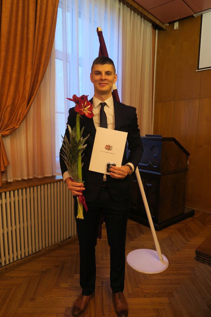 Ģenerālprokurors Juris Stukāns 2021.gada 28.janvārī pieņem jauno prokuroru zvērestus -